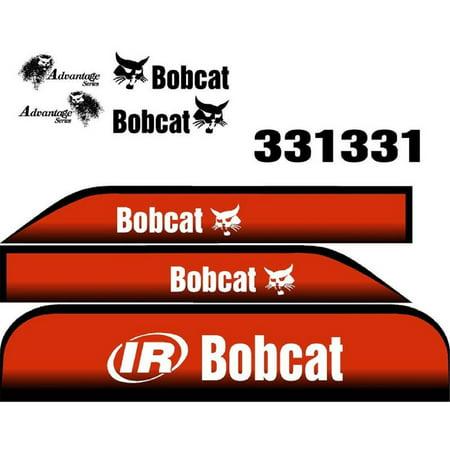 New Advantage Series Bobcat 331 Excavator Whole Machine Decal Set