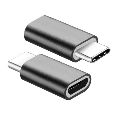 FREEDOMTECH Type C Adapter, Micro USB to USB C Adapter, Data Sync and Charging, Universal for Mac, ChromeBook Pixel, Nexus 5X, Nexus 6P, Nokia N1, Samsung Galaxy S9/S8, Note 8/9 All Type C (Best Usb C Adapter)