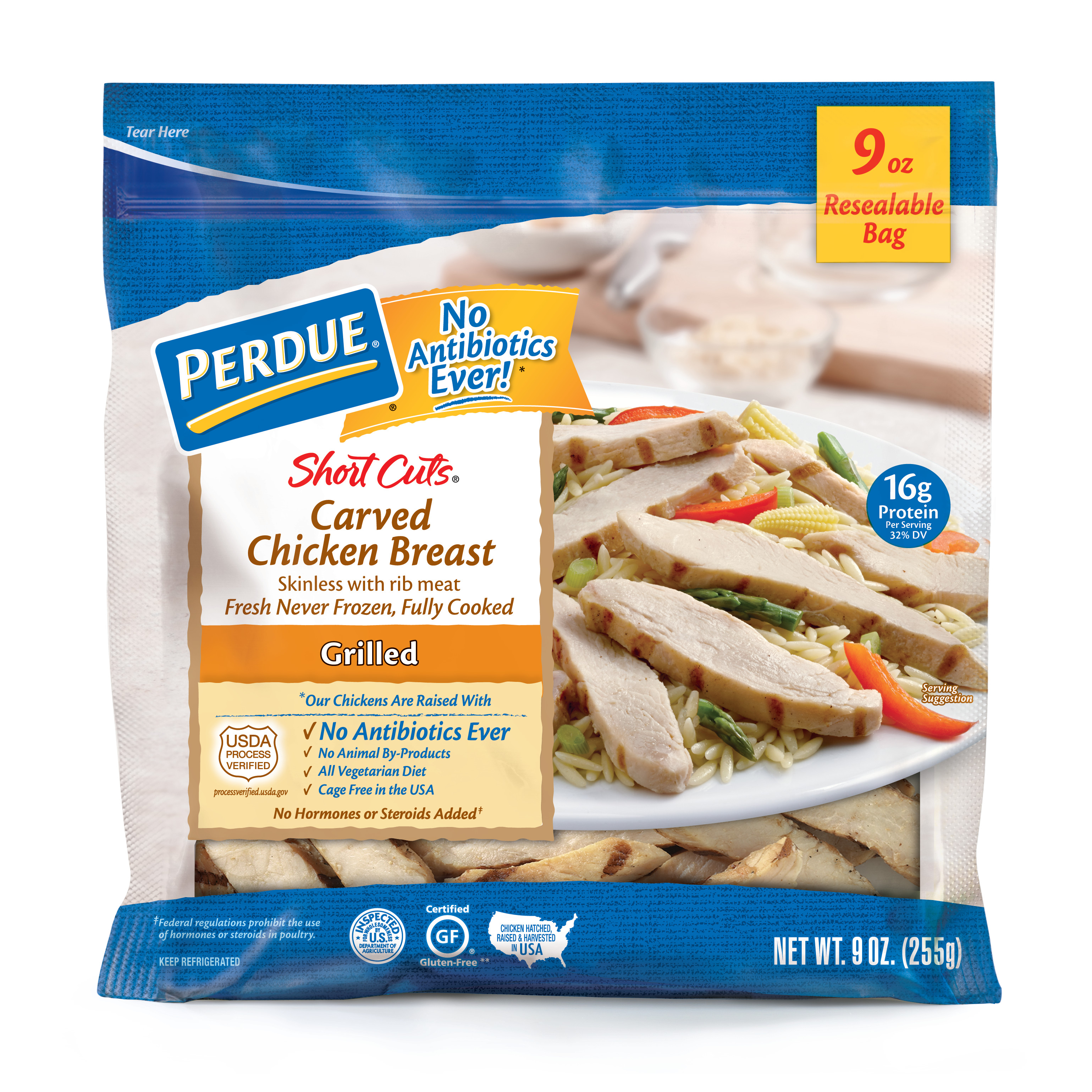 PERDUE SHORT CUTS Carved Chicken Breast Grilled (9 oz.)