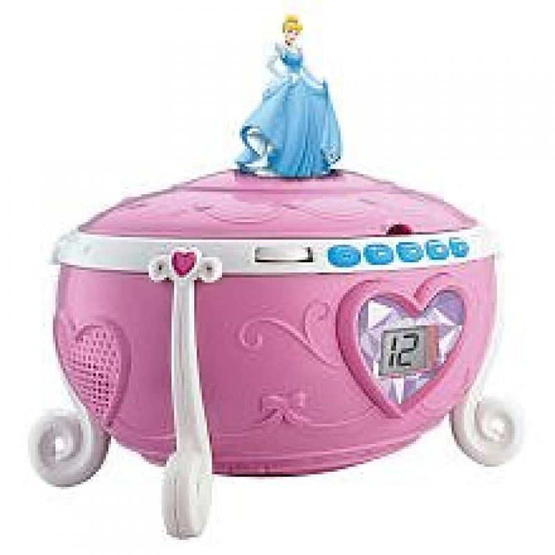 SDI Technologies Disney Princess Jewelry CD Boombox