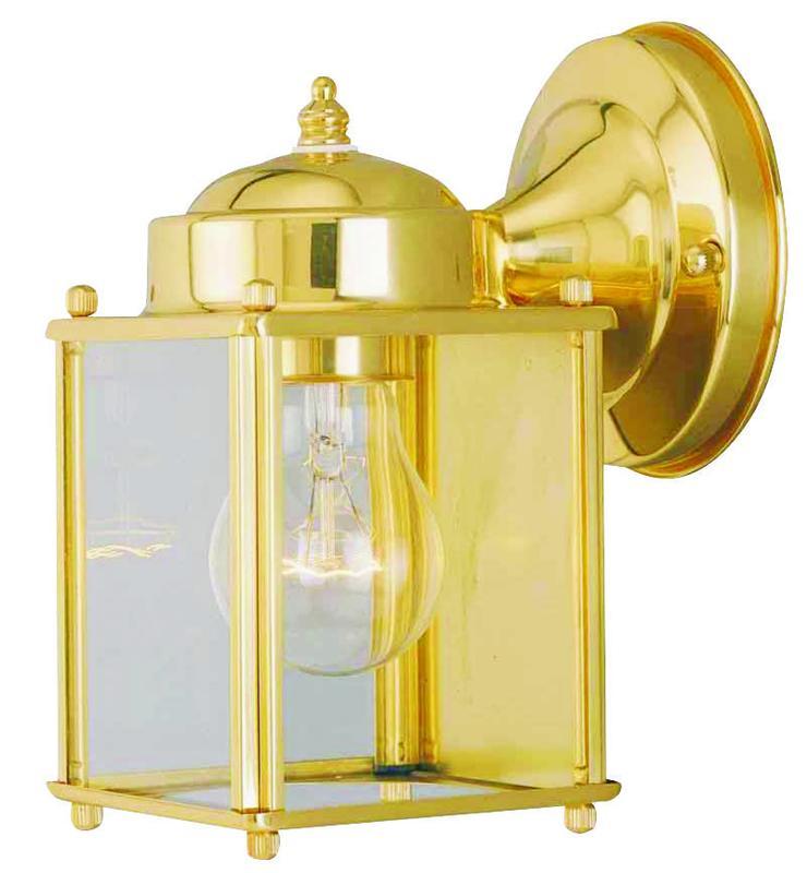 Boston Harbor 4000NH-2-3L Lantern Porch Light Fixture, Medium, 60 W, 1 Lamp by Mintcraft