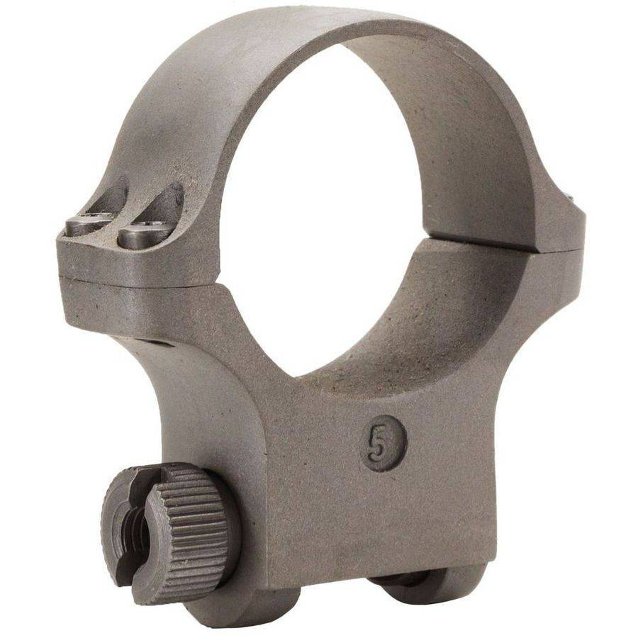 Ruger 90318 Clam Pack Single Ring, Medium, 30mm Diameter, Hawkeye Matte Stainless