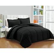 Chezmoi Collection 3-Piece All-Season Down Alternative Comforter Set