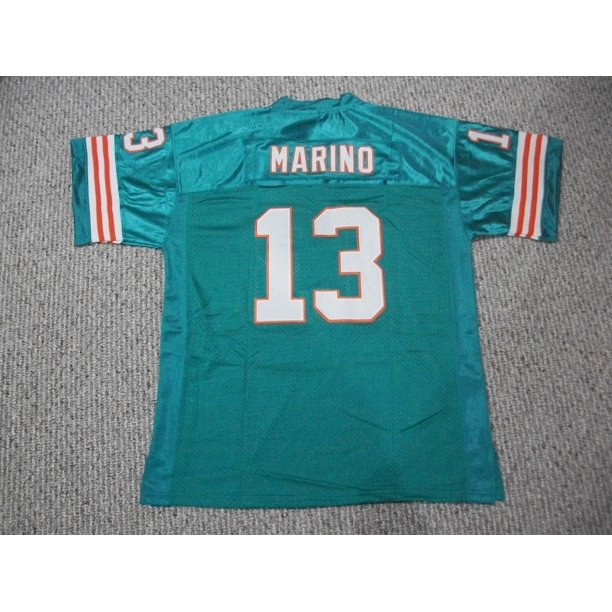 Dan Marino Jersey #13 Miami Unsigned Custom Stitched Teal Football New No Brands/Logos Sizes S-3XL