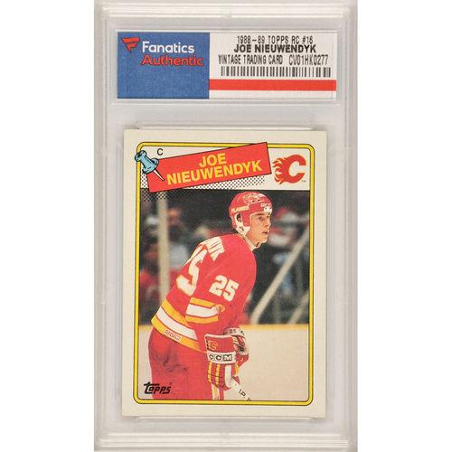 Joe Nieuwendyk Calgary Flames 1988-89 Topps Rookie #16 Card - No Size