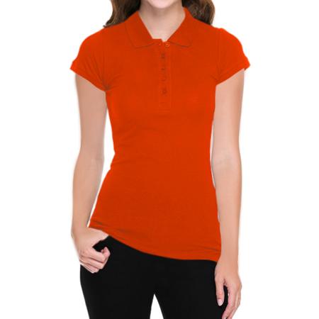 (Juniors' Short-Sleeve Pique Polo Shirt Golf Polos)