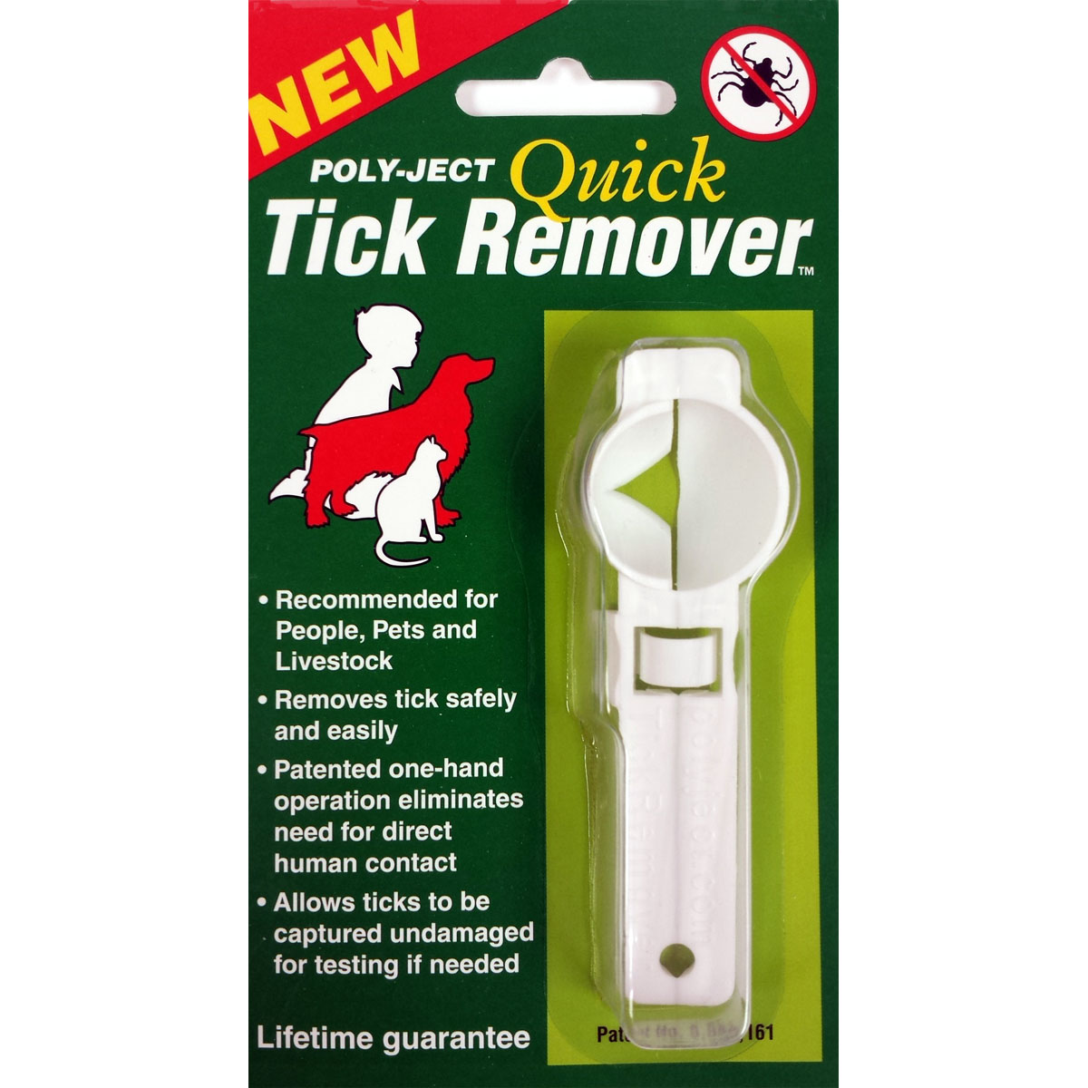 Tick Remover, World's Simplest Tick Remover