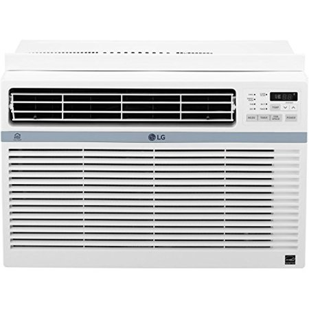 LG Energy Star 8,000 BTU 115V Window-Mounted Air Conditioner with Wi-Fi