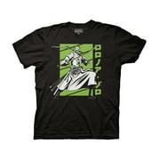 Ripple Junction One Piece Zoro White Green Adult T-Shirt Black