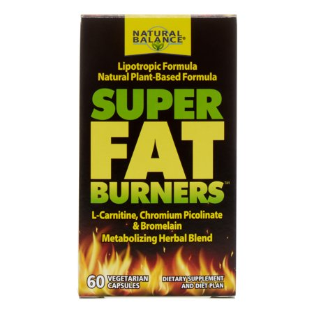 Natural Balance Super Fat Burners, 60 Ct