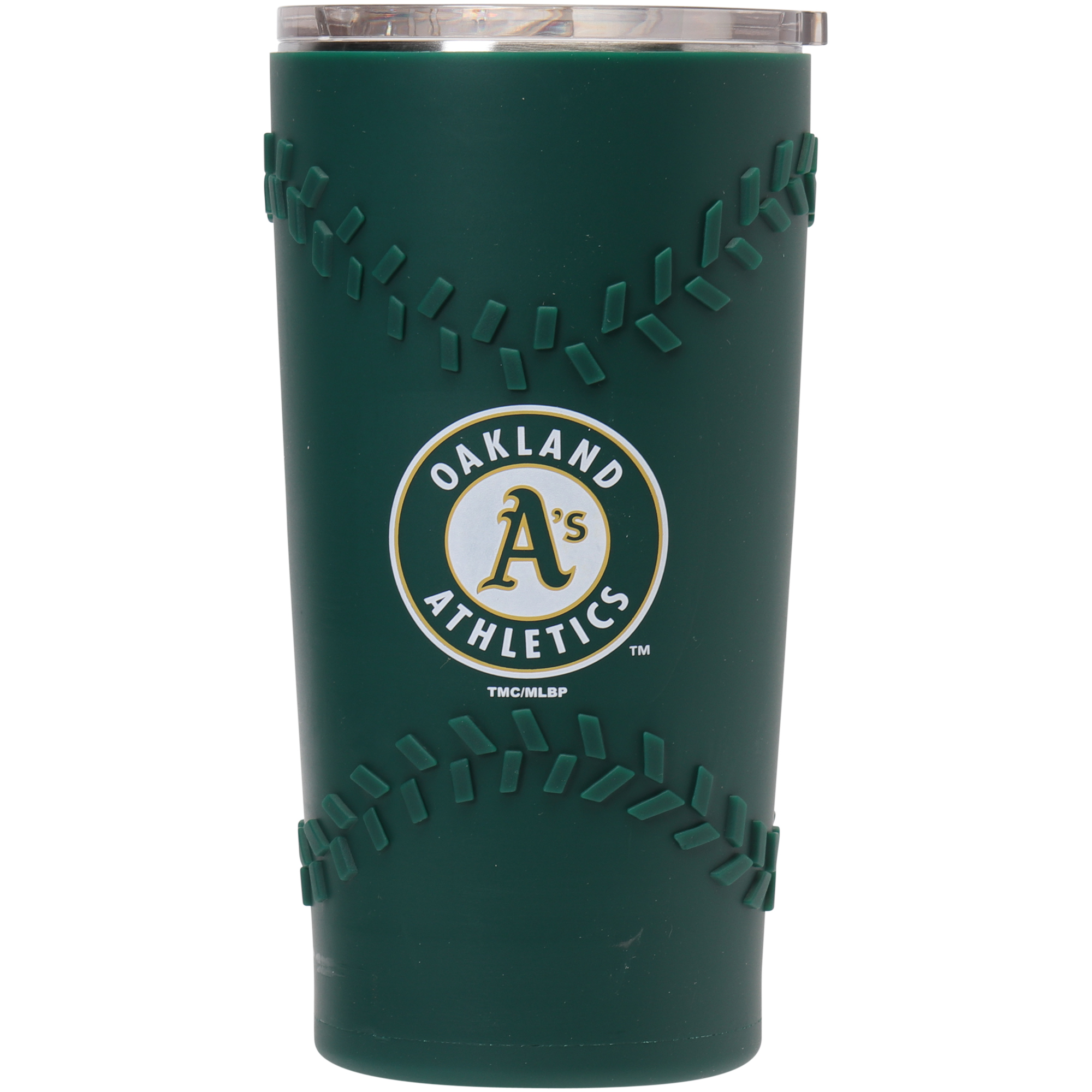 Oakland Athletics 20oz. Stainless Steel with 3D Silicone Tumbler - No Size