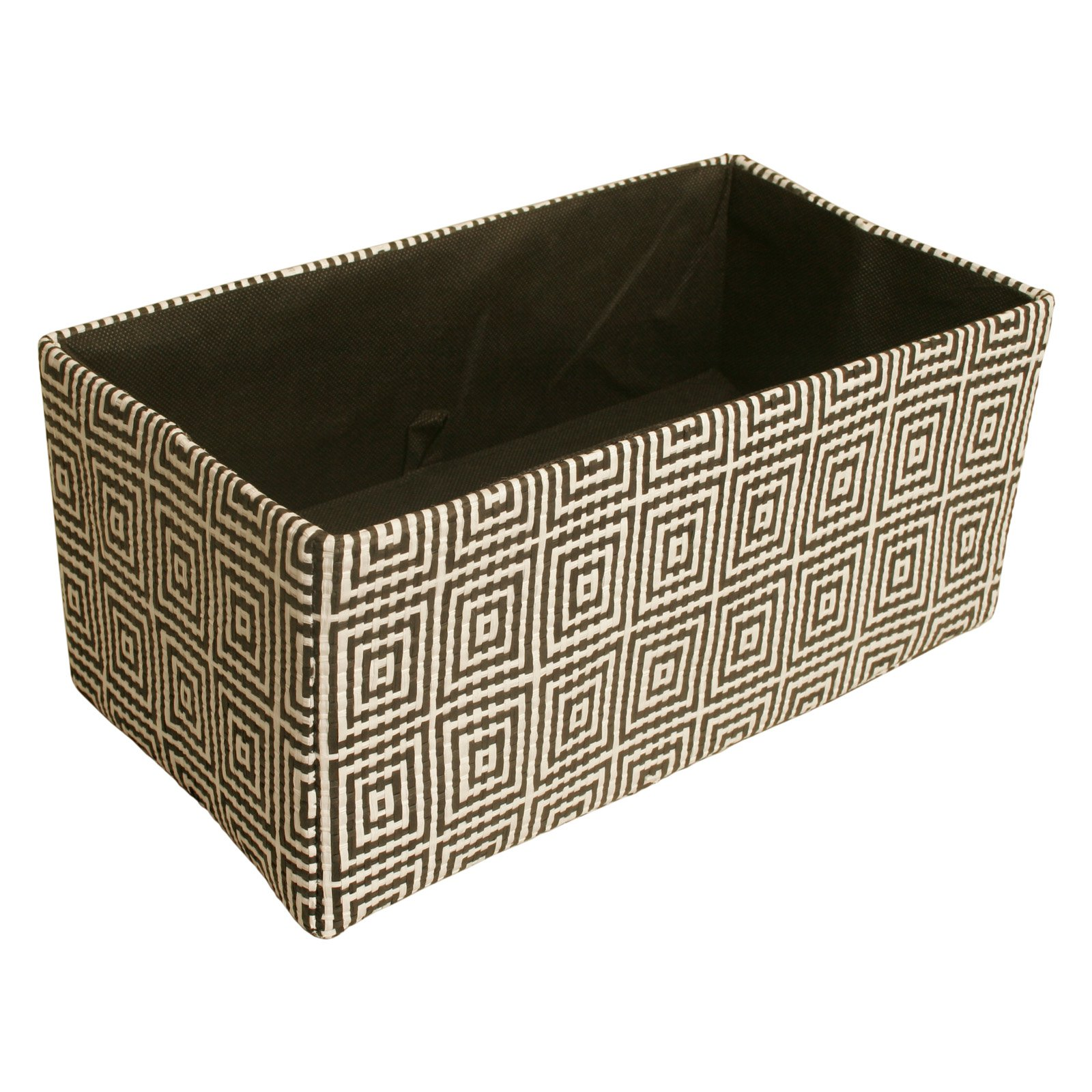 Wald Import Concentric Squares Double Collapsible Storage Bin