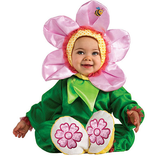 Pink Pansy Infant Halloween Dress Up / Role Play Costume