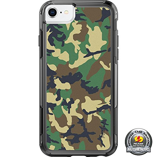 "LIMITED EDITION- Customized Printed Designs by Ego Tactical over a Pelican- Adventurer Case for Apple iPhone 8/7/6/6s (Standard 4.7"") - Desert Digital Camouflage"
