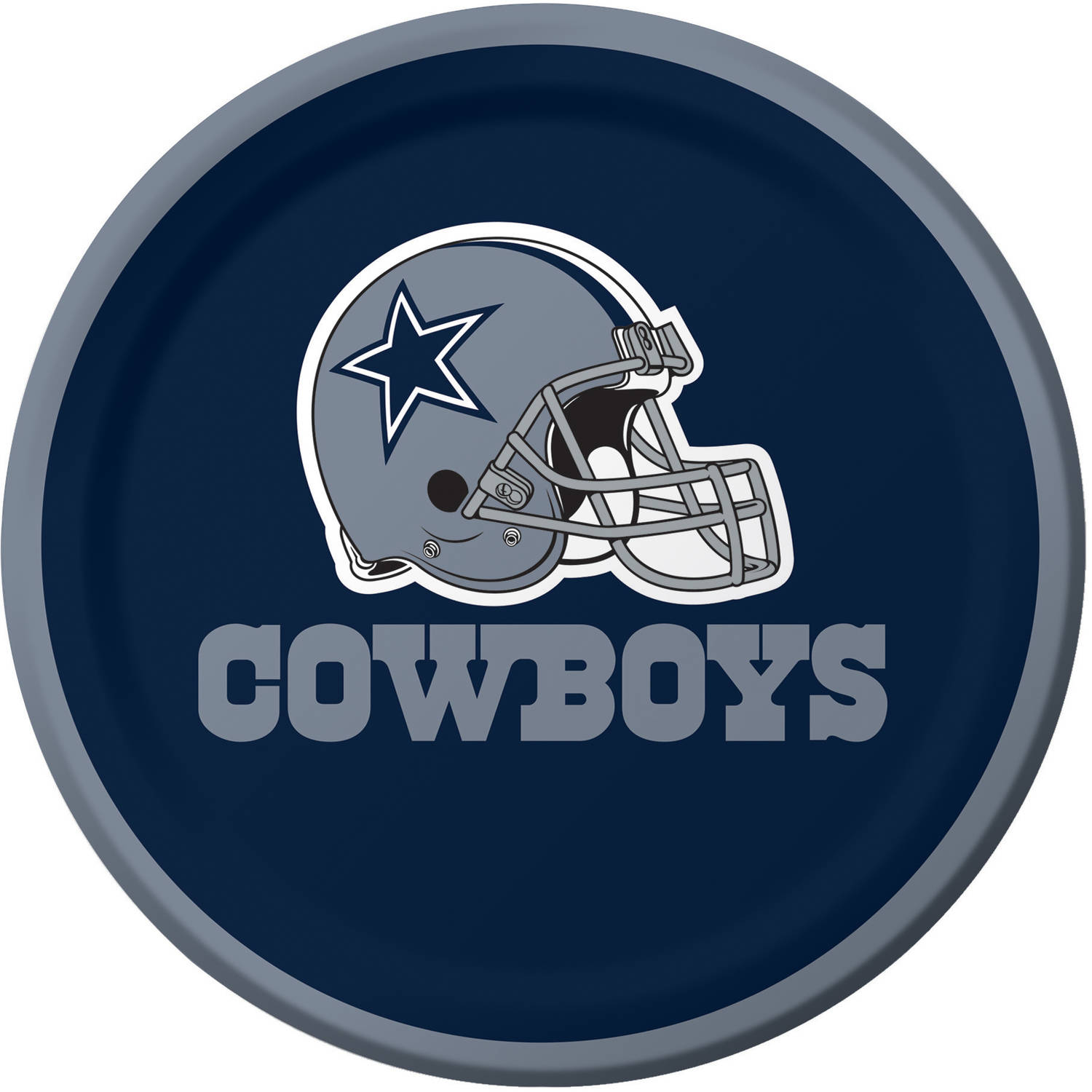Dallas Cowboys Dessert Plates, 8-Pack