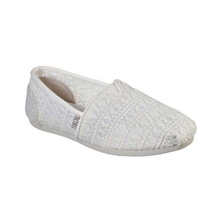 Women's Skechers BOBS Plush Hugs Kiss Alpargata