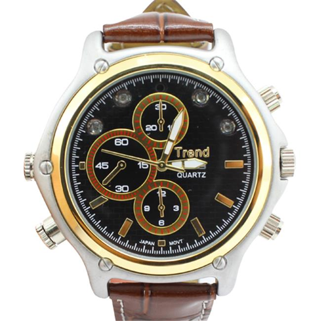 Ankaka D20411 HD 720P Ultra-thin Waterproof Pinhole Spy Watch Camera DVR with Sound recording, Calendar and MP3 function