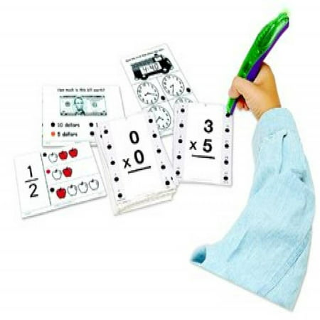 Educational Insights Hot Dots Math Flash Cards- Money - Math Practice Flash Cards