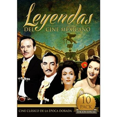 Leyendas Del Cine Mexicano: Cine Clasico De La Epoca Dorada (10 Peliculas) (Spanish) (Full Frame) (Peliculas De Halloween Gratis)