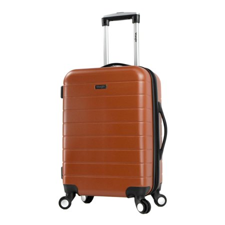 - 20 Expandable Spinner Rolling Carry-on w/ USB Port
