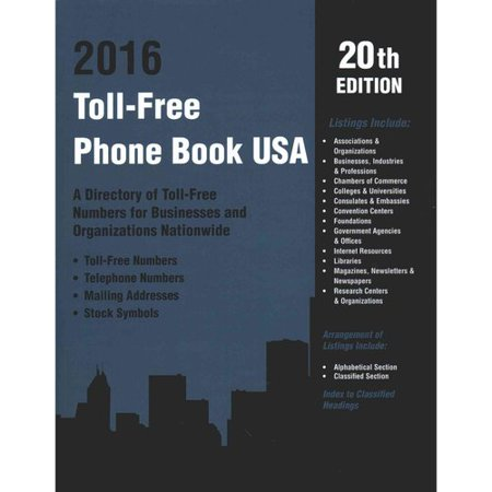 Where can you find a directory for toll-free numbers?