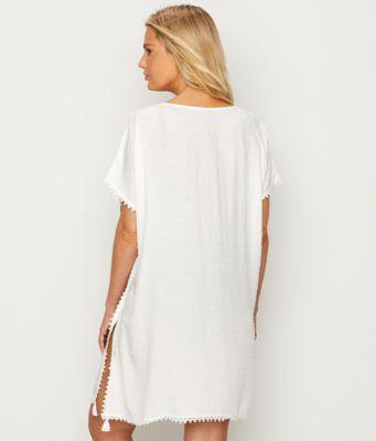 Pour Moi Siesta Cover Up White 91000