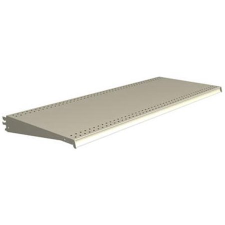 Lozier Store Fixtures DL322N WHT 3 ft. Wide x 22 in. Deep, White Lozier Shelf - Pack Of 2 ()
