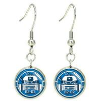 Star Wars R2D2 Dangle Earrings