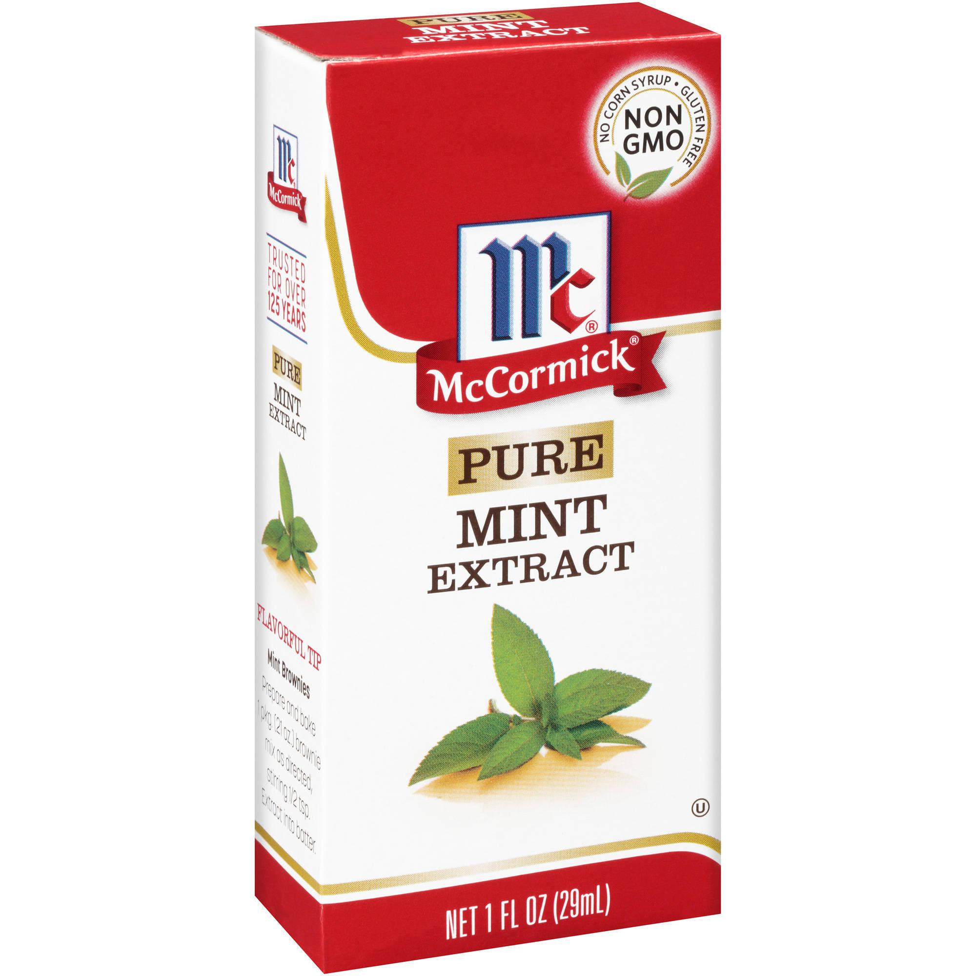 McCormick Pure Mint Extract, 1 fl oz