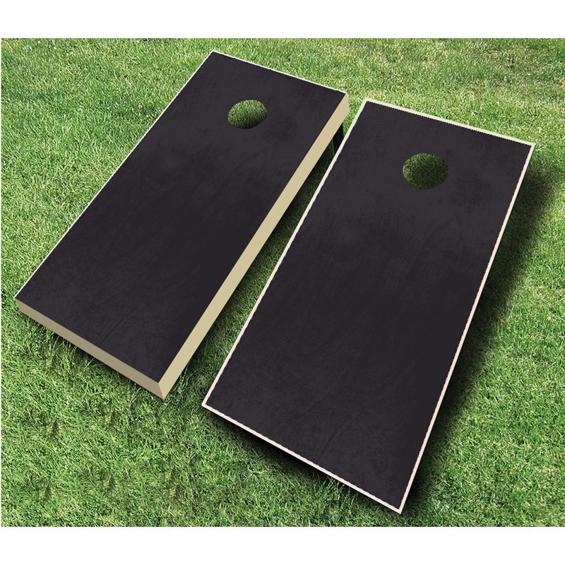 AJJ Cornhole Stained Cornhole Set with Bags