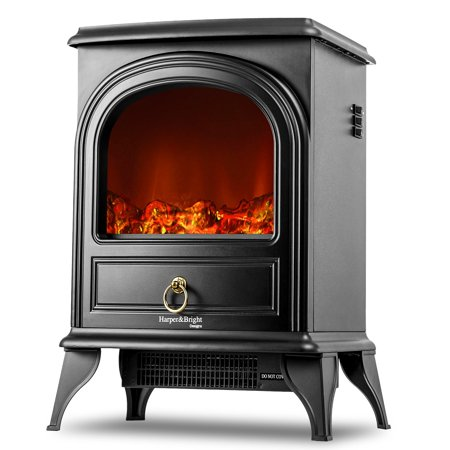 Designer Fireplace - Harper&Bright Designs Electric Fireplace Stove Heater Portable Fireplace
