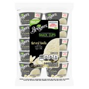 Breyers Ice Cream Natural Vanilla Snack Cups 3 oz, 10 ct