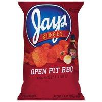 Jays Open Pit BBQ Potato Chips, 11.5 oz