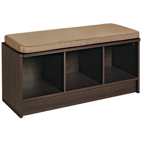 Closetmaid 3 Cube Bench Espresso