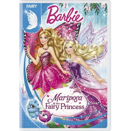Barbie Mariposa & The Fairy Princess (DVD) - Fairies Movies For Kids