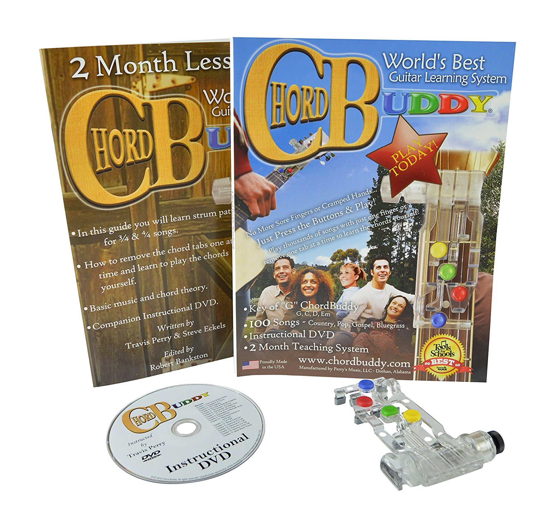 chord buddy - guitar learning tool & dvd - walmart