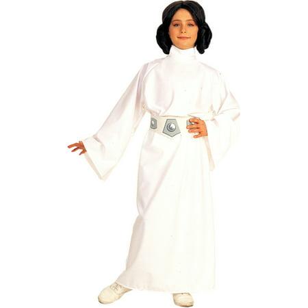 Morris costumes RU883062SM Princess Leia Child Sm 4-6
