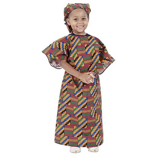 CHILDREN'S FACTORY Multi-Ethnic Ceremonial Costume - Afri...