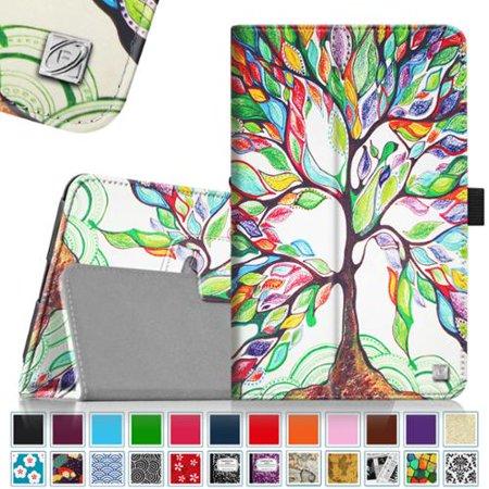 Verizon Ellipsis 8 Case - Fintie Premium Vegan Leather Folio Cover for Verizon Ellipsis 8 4G LTE Tablet, Love Tree