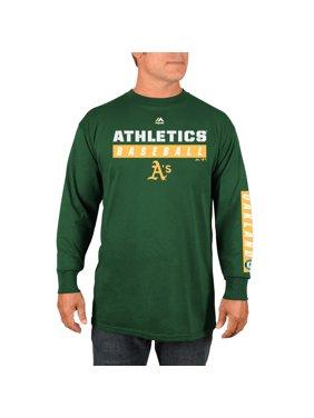 Product Image Oakland Athletics Majestic Proven Pastime Long Sleeve T-Shirt  - Green b4b2d28cf