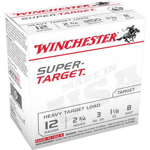 "Winchester Super Target 12 Gauge, 2-3/4"""