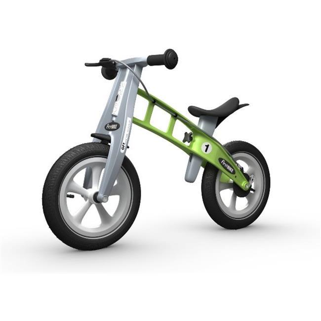 FirstBike L2009 Racing Green Bike With Brake And Big Appl...