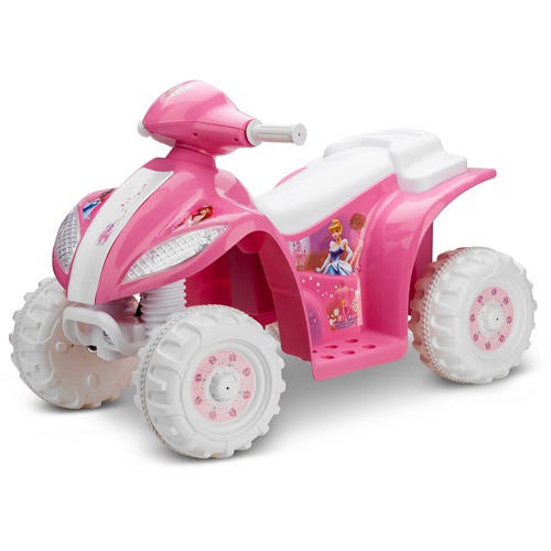 Disney Princess 6V Electric Quad, Pink