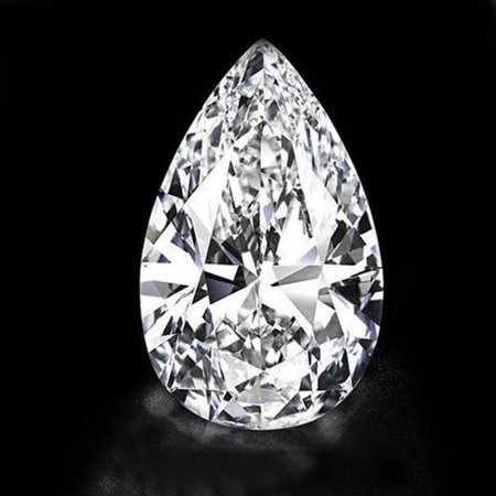 30.09ct White Brilliant Cubic Zirconia CZ Pear Cut Loose Gemstone DIY (Loose Cz Stones)