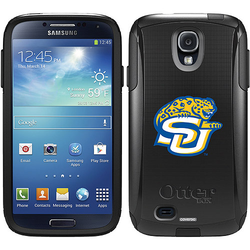 Southern University Primary Mark Design on OtterBox Commuter Series Case for Samsung Galaxy S4
