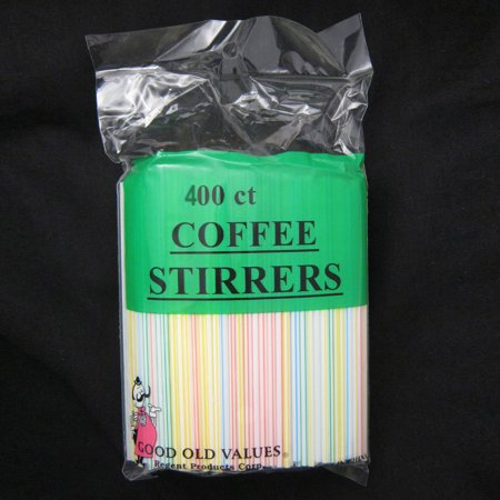 400ct COFFEE STIRRER BAR STRAW 5