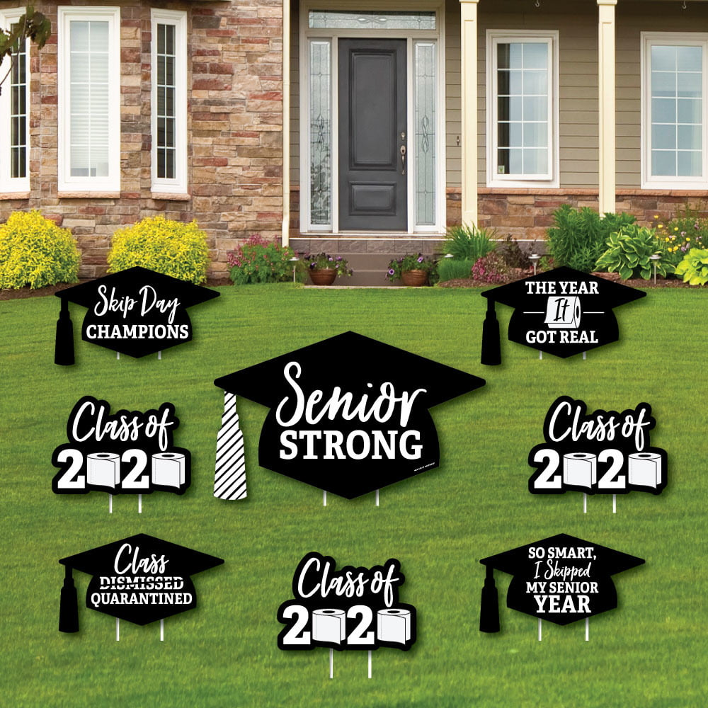 Senior Strong - Yard Sign and Outdoor Lawn Decorations ...