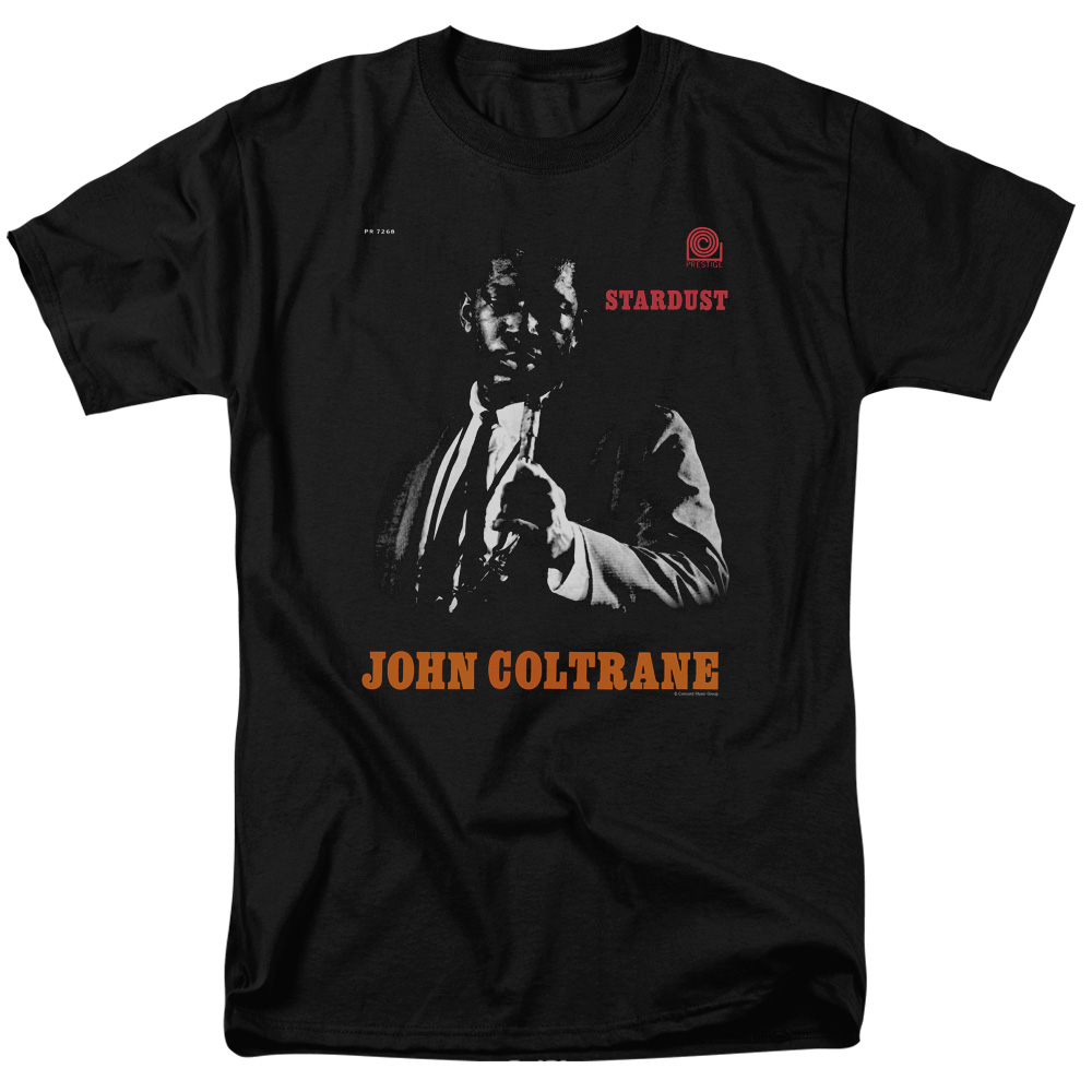 JOHN COLTRANE/COLTRANE - S/S ADULT 18/1 - BLACK - LG