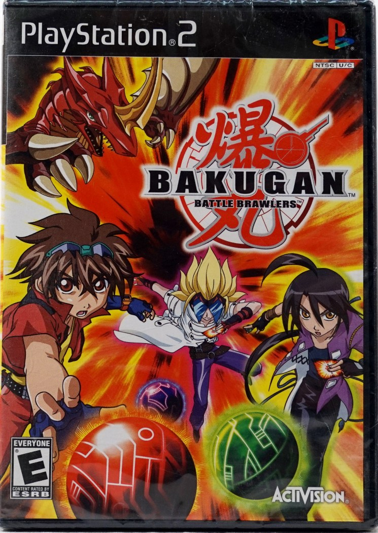 Bakugan Battle Brawlers Playstation 2(Refurbished) by Activision