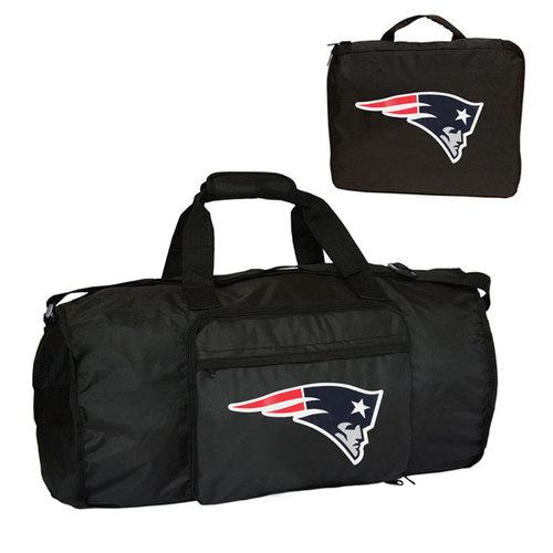 NFL - New England Patriots Fold-Away Duffle Bag